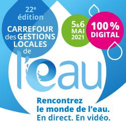 Labocea au Carrefour des gestions locales de l'eau 2021
